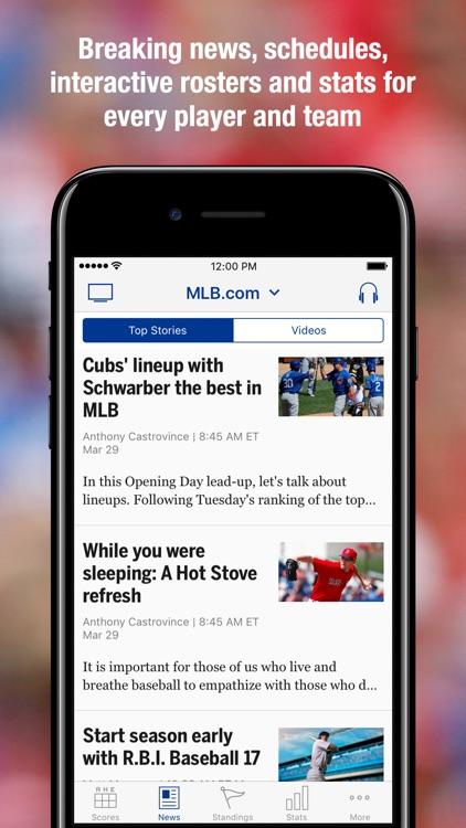 MLB.com At Bat screenshot-4