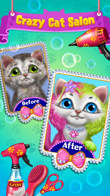 Crazy Kitty Cat Salon screenshot-0