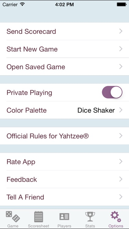 YZ Score - YAHTZEE® scoresheet screenshot-4