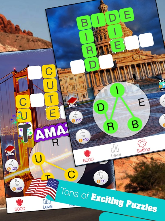 Image of American Word Match King for iPad