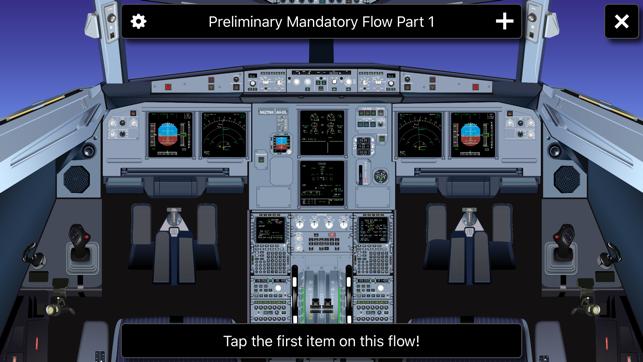 A320 Cockpit Screenshot