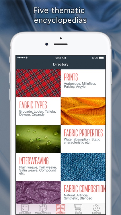 All about Fabrics screenshot-4