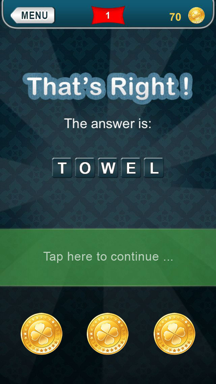 What am I? riddles - Word game Screenshot