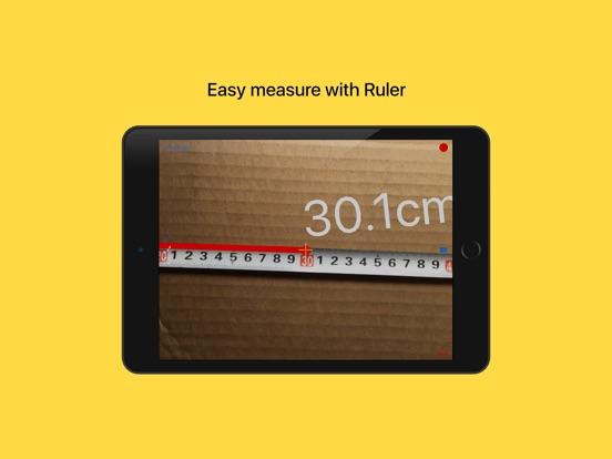 Screenshot #1 for Ruler lite:tape measure length