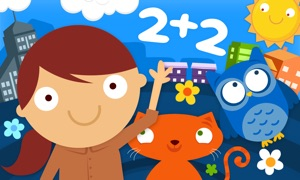 Animal Math Kindergarten Games