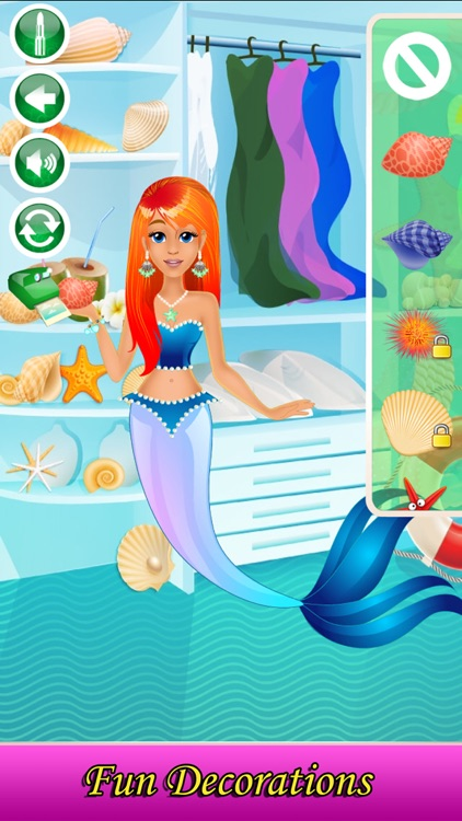 Mermaid Makeover & Salon Spa screenshot-4