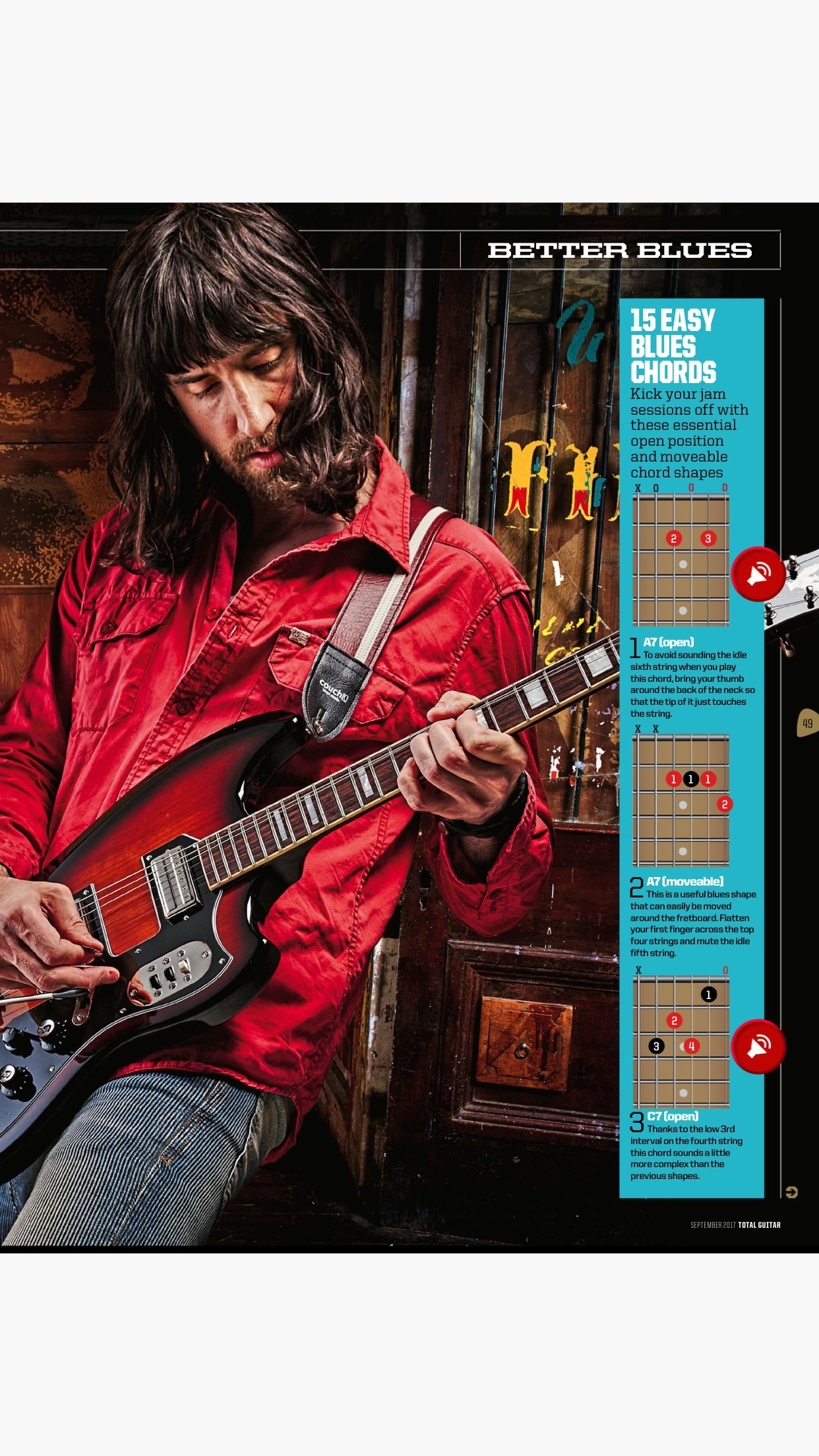 Total Guitar: lessons, tabs & interviews Screenshot