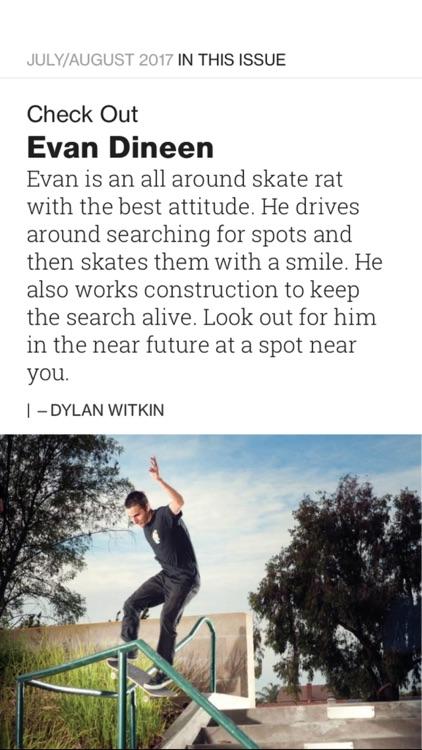 TransWorld Skateboarding Mag screenshot-3