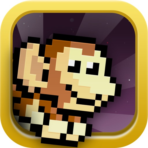 Cosmy Chimp - The flappy story of a monkey bird icon