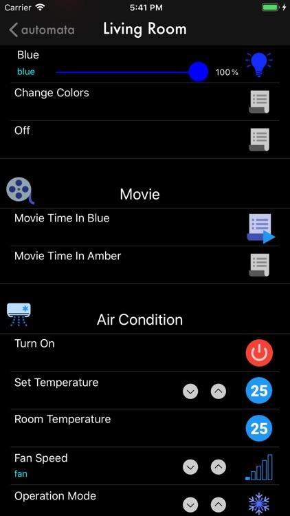 Automata Home Automation screenshot-7