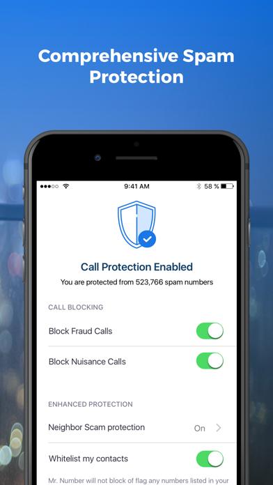Mr. Number Call Block & Lookup Screenshot