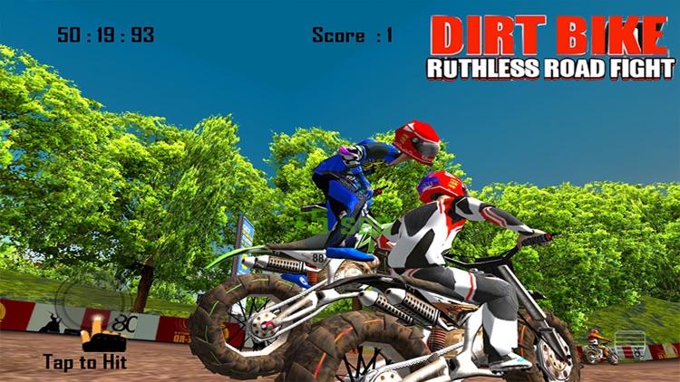 Dirt Bike Road Fight Racing screenshot-4