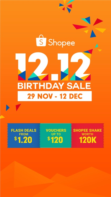 Shopee SG: 12.12 Birthday Sale screenshot-0
