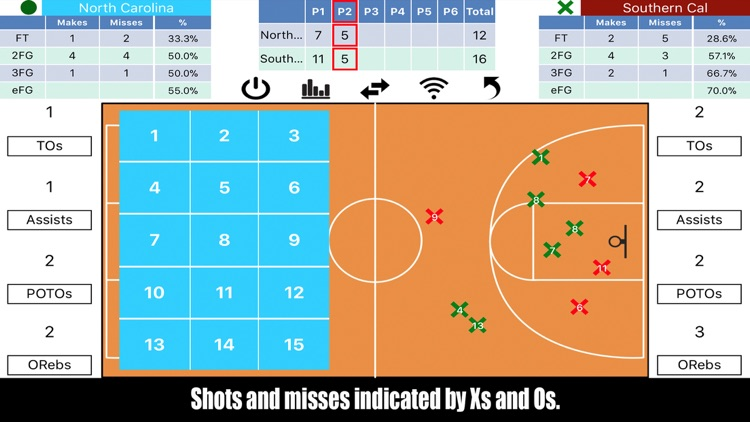 Tap Shots - Bball Shot Tracker screenshot-1