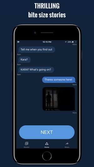 Scary chat stories - Addicted on the App Store