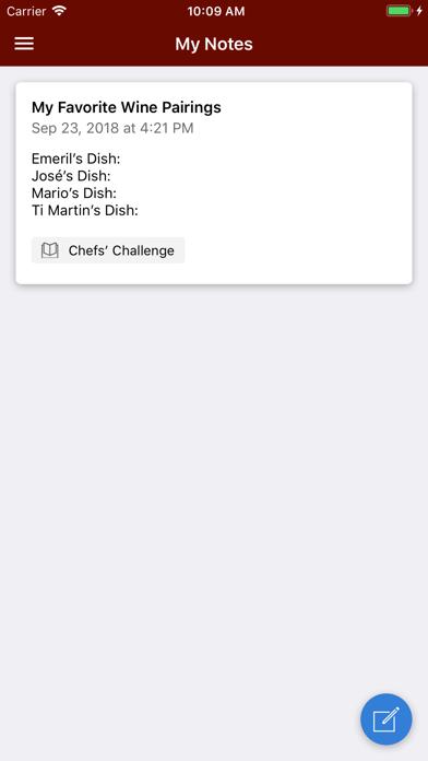 WS Events Screenshot