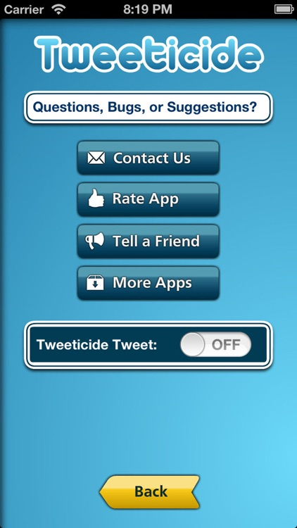 Tweeticide - Delete All Tweets screenshot-3