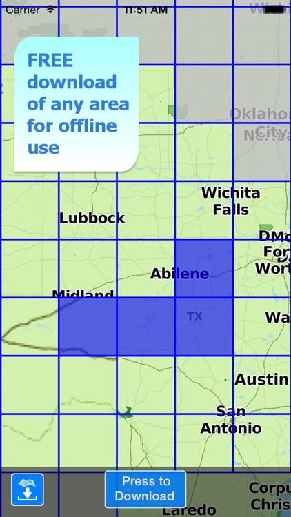 Aqua Map Texas Lakes GPS screenshot-4
