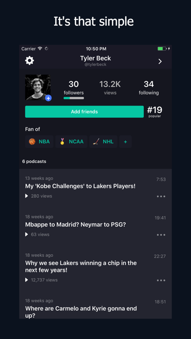 Screenshot of Gametakes: Share game analysis App