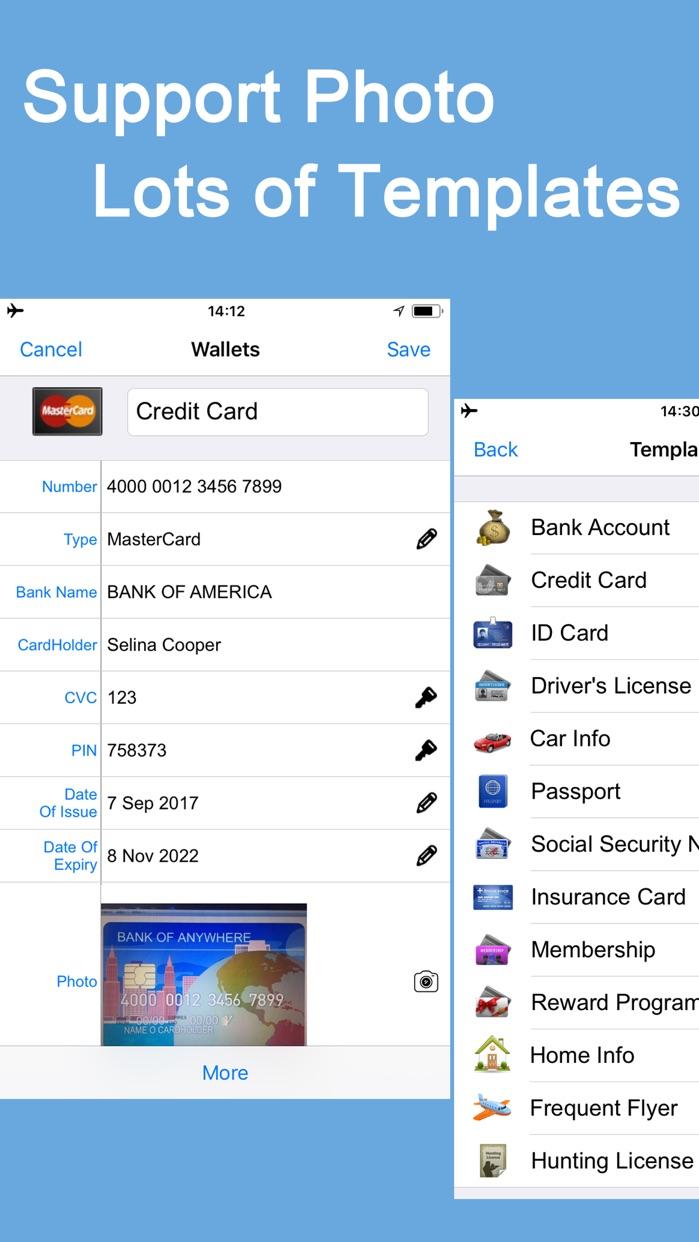 Password Manager Keep Lock App Screenshot
