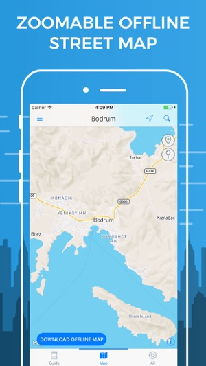 Bodrum travel guide with offline street map on the app store bodrum travel guide with offline street map on the app store gumiabroncs Images