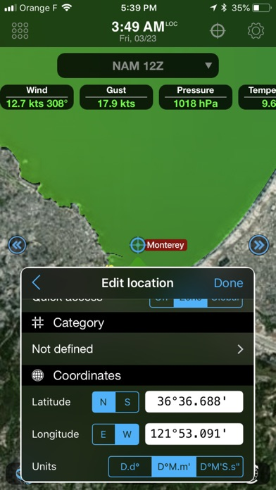 Weather4d Routing review screenshots