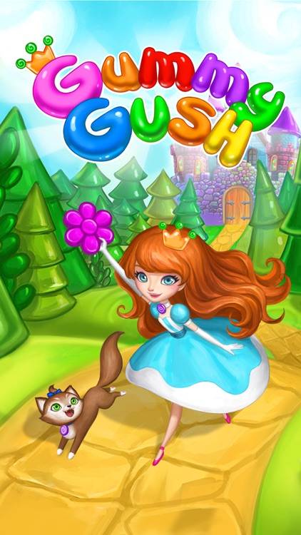 Gummy Gush: Match 3 Puzzle screenshot-4