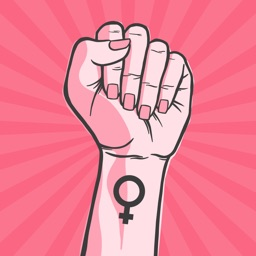 50+ Girl Power Sticker App