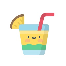 Kawaii Drinks Stickers.