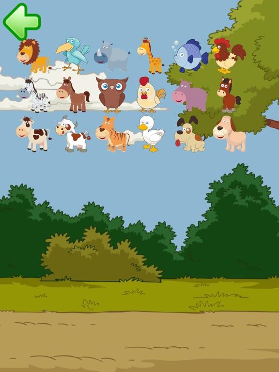 Скачать игру пазлы: Животное тяжести для малышей 2