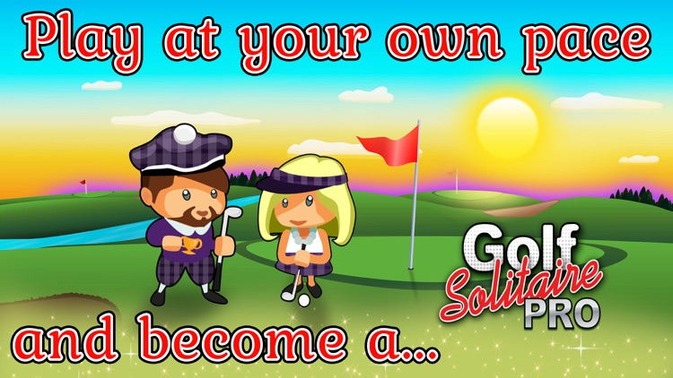 Golf Solitaire Pro! screenshot-4