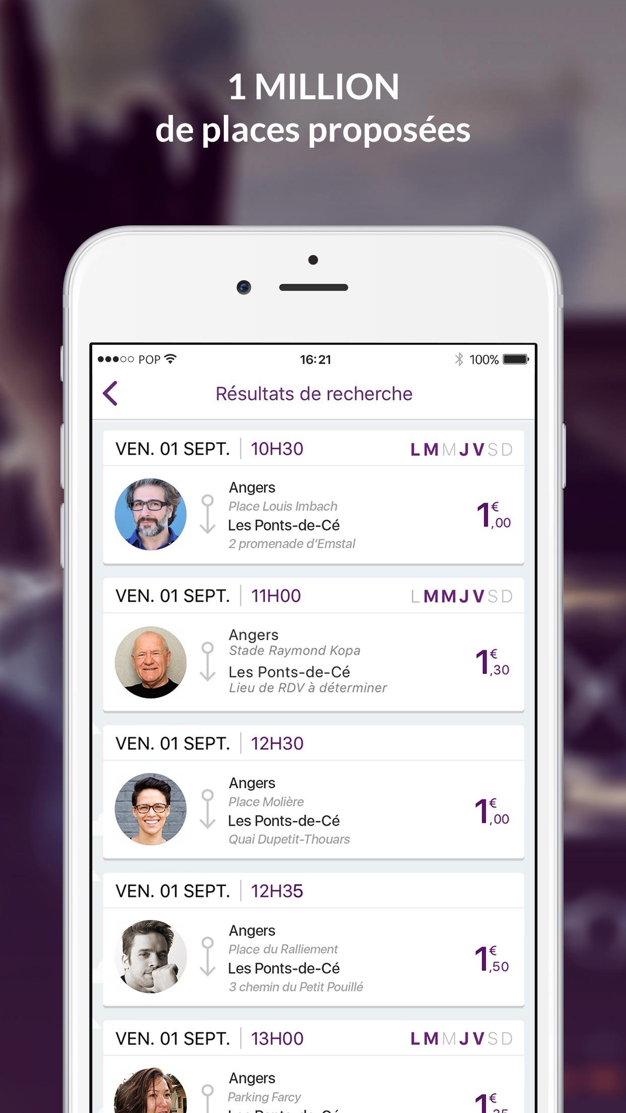 iDVROOM - Covoiturage Screenshot