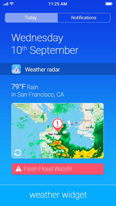Thermometer and Forecast app image