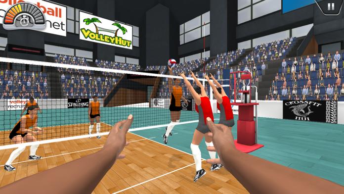 VolleySim: Visualize the Game Screenshot