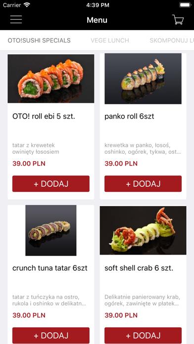 OTO!Sushi screenshot 1