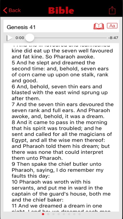 Bible KJV audio screenshot-3