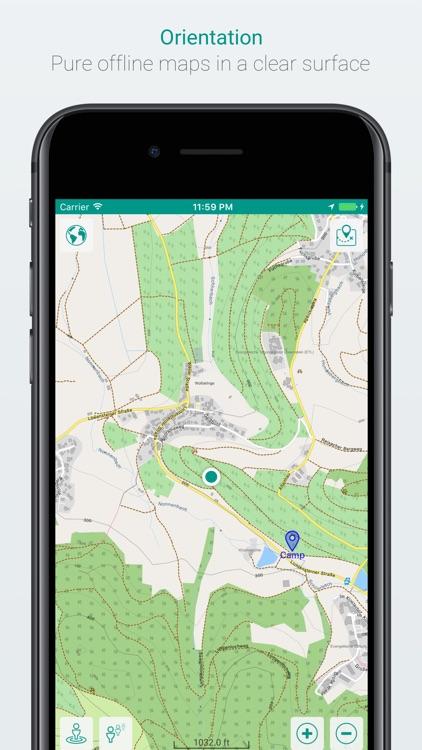mAPP - offline mapping app