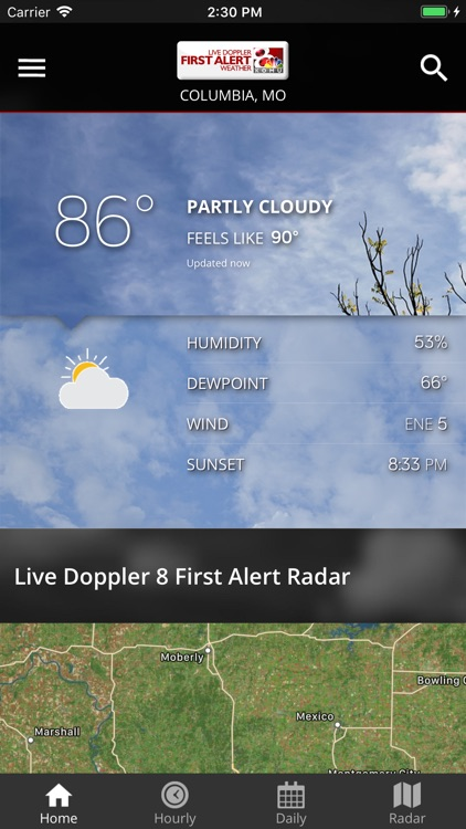 KOMU Weather App