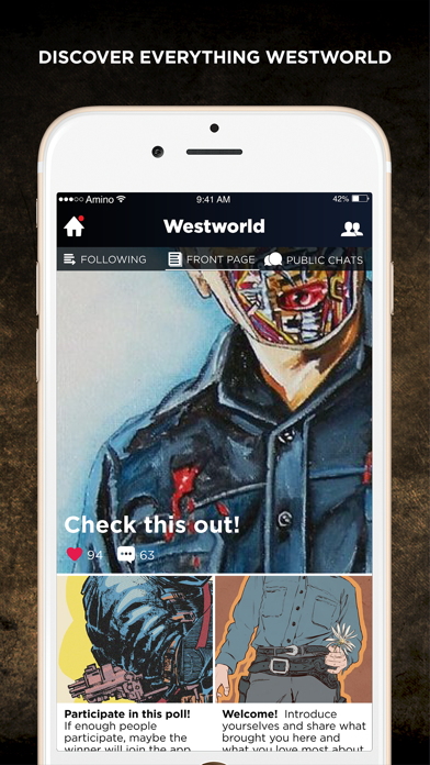 Newcomer Amino for Westworld-0