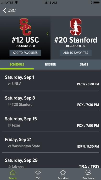 College Football App screenshot-8