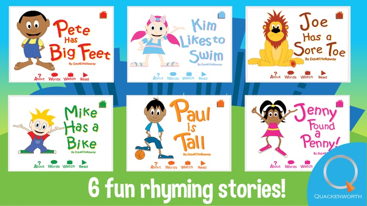 Learn to Read: Rhyme Stories