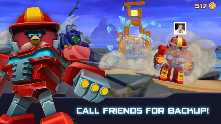 Angry Birds Transformers screenshot-3