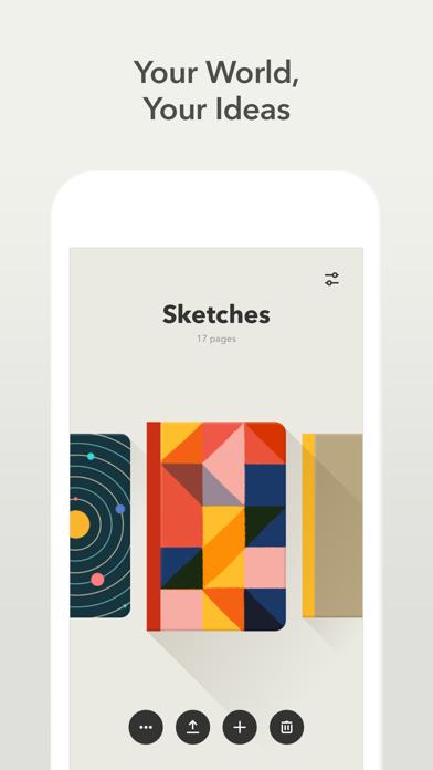 Paper, un carnet à croquis sur iPad-capture-3
