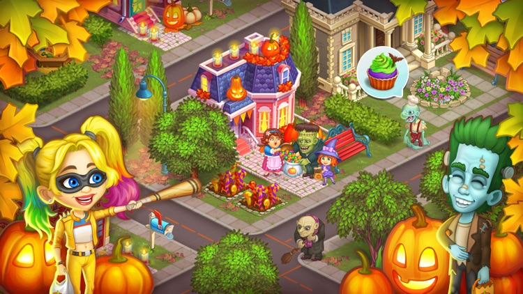 Monster Farm: Happy Halloween screenshot-4