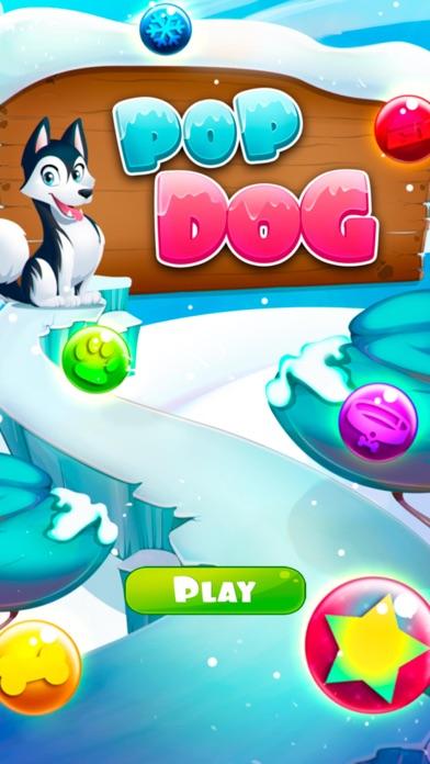 犬のおもしろ!グミドロップスクリーンショット1