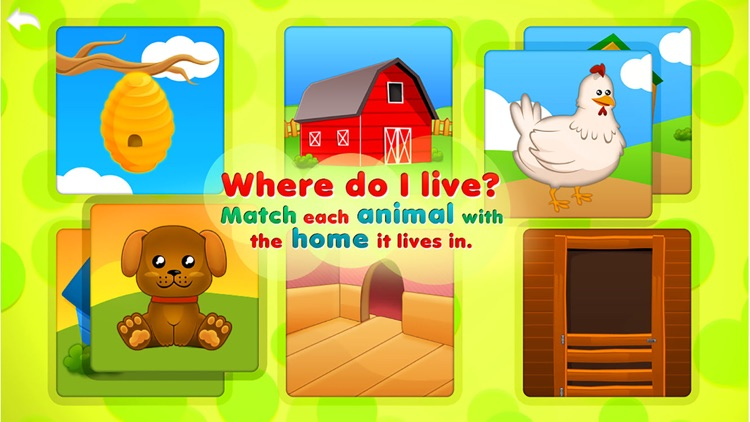 Animals Babies Puzzles Lite screenshot-0