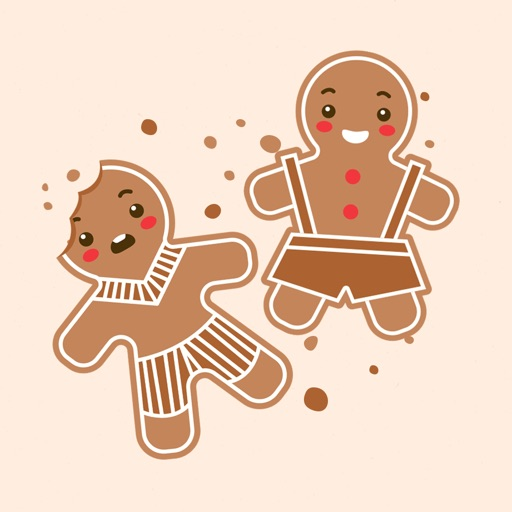 Gingerbread Adorable Stickers