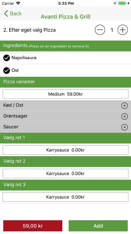 Avanti Pizza Gråsten screenshot-3