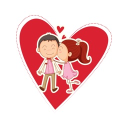Couple Love Bird Stickers