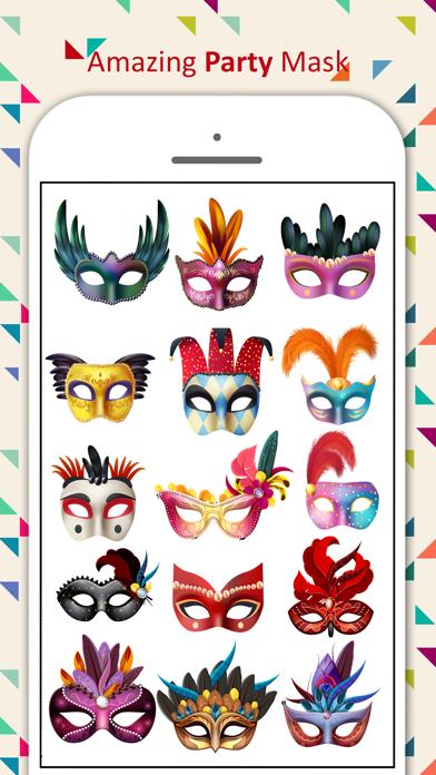 Party Mask Emoji screenshot one